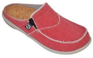 Spenco Siesta Slide Orthotic Slip-on Shoes w/ Woven Detail