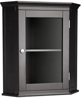 Elegant Home Fashions Marbleton Corner Wall Cabinet