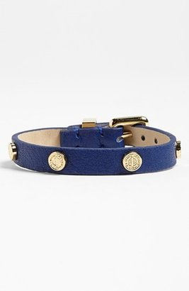 Marc by Marc Jacobs 'Turnlock' Leather Bracelet