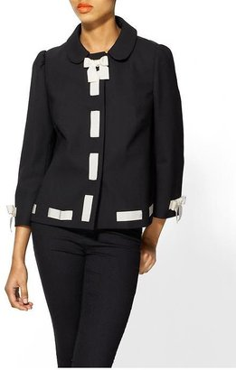RED Valentino Wool Crepe Jacket