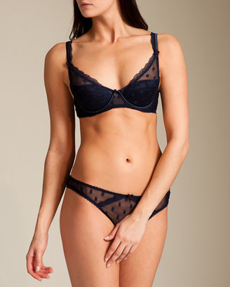 Mimi Holliday Dotty Nuit Bow Thong