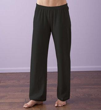 Gaiam Organic Cotton Lace Trimmed Pant