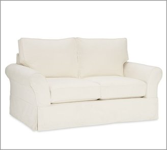 Pottery Barn PB Comfort Slipcovered Loveseat