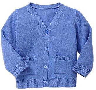 Gap Blue V-neck cardigan