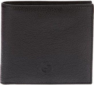 Giorgio Armani logo embossed wallet