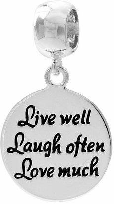 FINE JEWELRY Forever Moments Live, Laugh, Love Charm Bracelet Bead