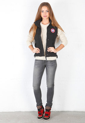 Canada Goose Freestyle Vest in Silverbirch