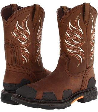 Ariat OverDrive Wide Square Toe (Alamo Brown) - Footwear