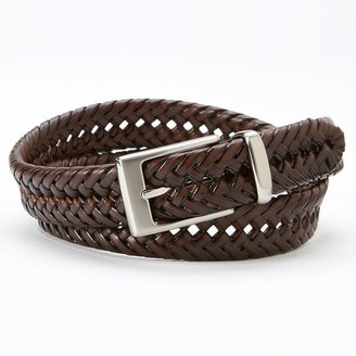 Dockers® Laced Braided Leather Belt $30 thestylecure.com
