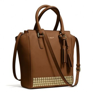 Coach Legacy Mini Tanner Crossbody In Studded Leather