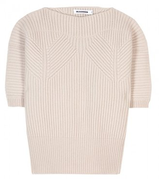 Jil Sander WOOL AND CASHMERE PULLOVER