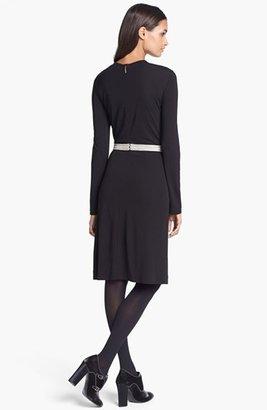 Tory Burch 'Maci' Embellished A-Line Dress