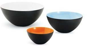 Design Within Reach Small Krenit Bowls, Set of 3""