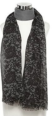 Mng by Mango® Lace Print Scarf