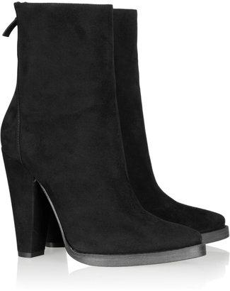 Balmain Suede calf boots