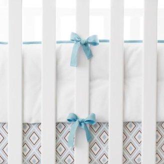 Nursery Basics Bumper Aqua
