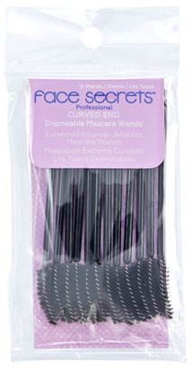 Face Secrets Curved Disposable Mascara Wands $12.99 thestylecure.com