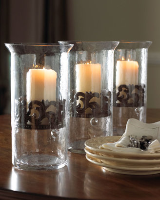 GG Collection G G Collection Medium Glass Candleholder