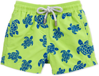 Vilebrequin Turtle Boys' Jim Swim Trunk