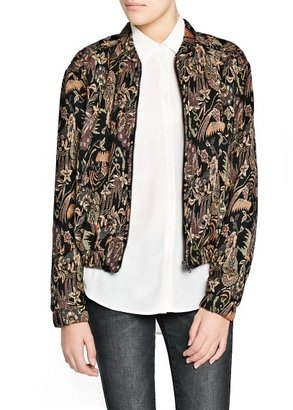 MANGO Outlet Tapestry Jacquard Jacket
