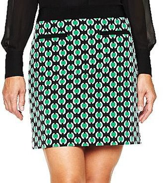 JCPenney Worthington® Print Mini Skirt - Petite