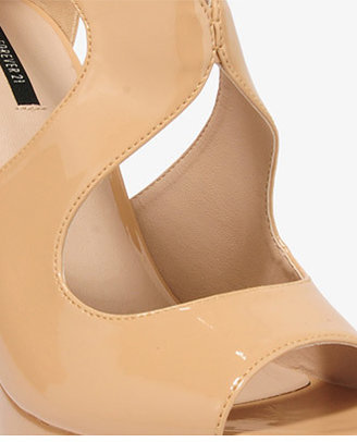 Forever 21 Patent Wedge Sandals