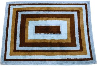 My Baby Sam Mad About Plaid Rug - Blue