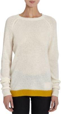Trovata Colorblock Hem Sweater