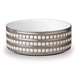 L'OBJET Perlee Platinum 5 Vertical Bowl