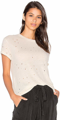 IRO Clay Tee Shirt in White $142 thestylecure.com