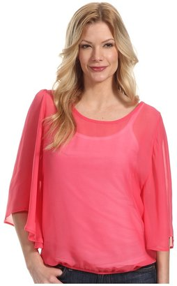 Pure & Simple Talicia L/S Top (Grapefruit) - Apparel