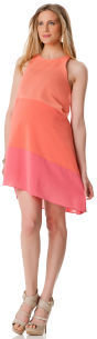 A Pea in the Pod Sleeveless Colorblock Maternity Dress