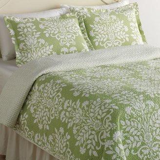 Laura Ashley rowland floral quilt set