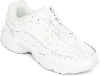 Fila Memory Workshift Womens Slip-Resistant Athletic Shoes $60 thestylecure.com