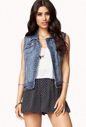 Forever 21 Cool Girl Denim Vest