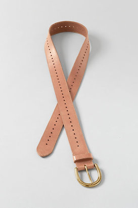 Lands' End Women's Plus Size Perforated Belt