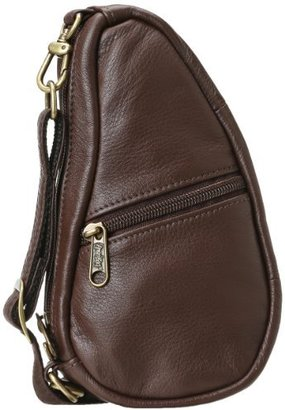 AmeriBag Leather Baglett Shoulder Pack