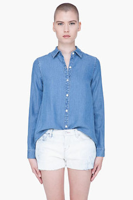 Marc by Marc Jacobs Blue Ayler Denim Blouse