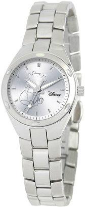 DISNEY Disney Fortaleza Winnie the Pooh Womens Silver-Tone Watch $99.99 thestylecure.com