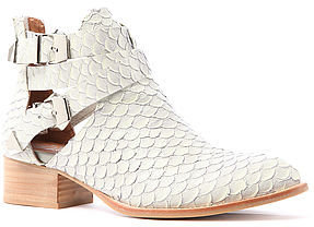 Jeffrey Campbell The Everly Boot in Grey Snake