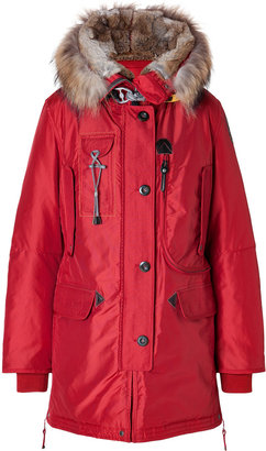 Parajumpers Kodiak Down Coat in Red