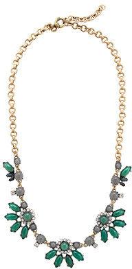 J.Crew Translucent flower necklace