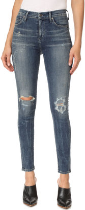Citizens of Humanity Rocket Skinny Jeans $238 thestylecure.com