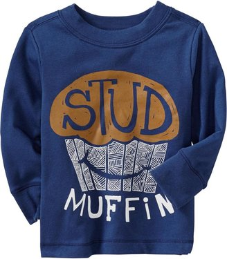 "Old Navy ""Stud Muffin"" Tees for Baby"