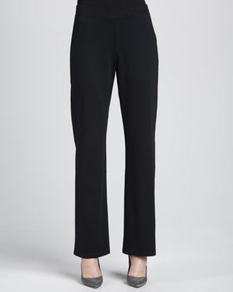 Eileen Fisher Heavyweight Rayon Slim Pants