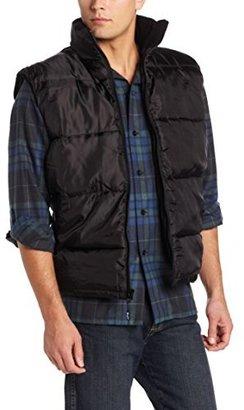 Wrangler Men's Sleeveless Quilted Vest