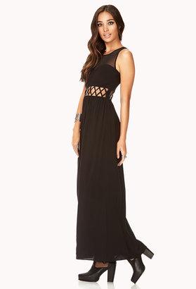 Forever 21 Secret Rebel Maxi Dress