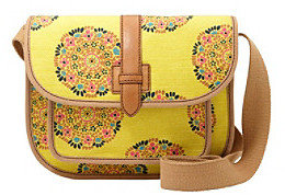 Fossil Floral Shay Floral Print Flap Crossbody