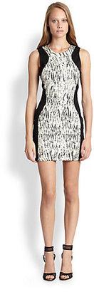 Parker Contour Colorblock Dress