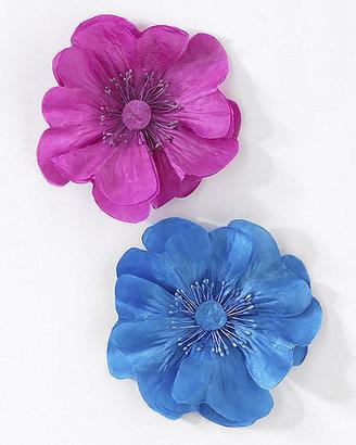 Spiegel Silk Flower Pin